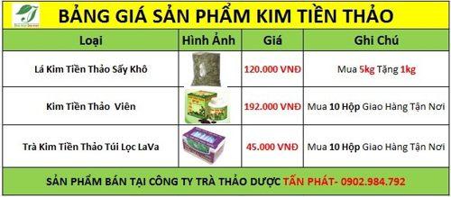 Giá kim tiền thảo tại tphcm ổn định huyết áp