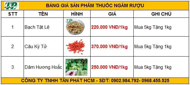 giá bán bạch tật lê tại tphcm